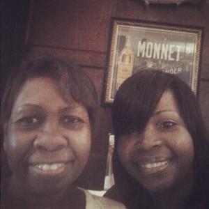 Mom & my sister Maria