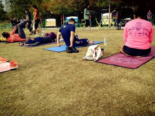 Yoga In The Park Klyde Warren Park