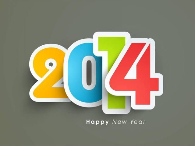 Happy New Year!!! 2014 EST